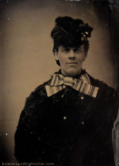 1860s-1870s Man in drag. Personal Collection.