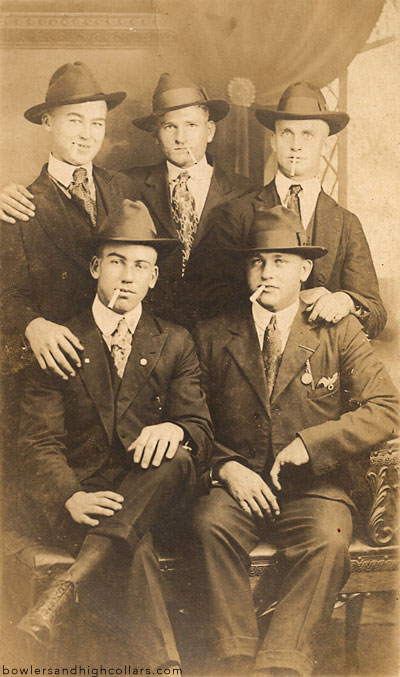 Bootleggers or just bad looking buddies? Personal Collection.