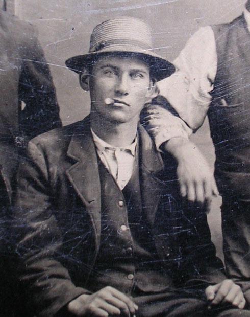 Tintype detail