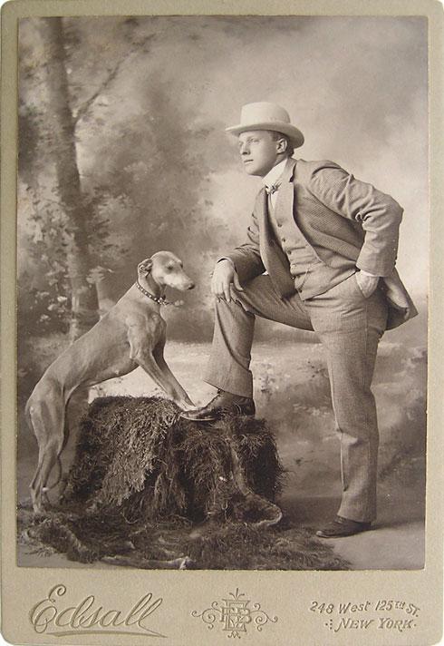 greyhound-white-hat