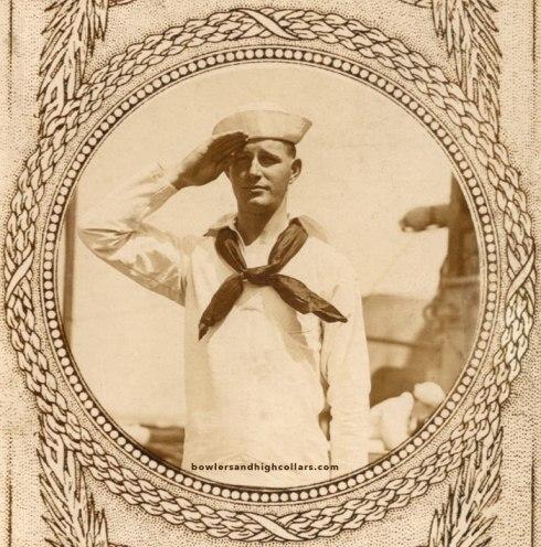 Elva the Sailor. RPPC. Private Collection.