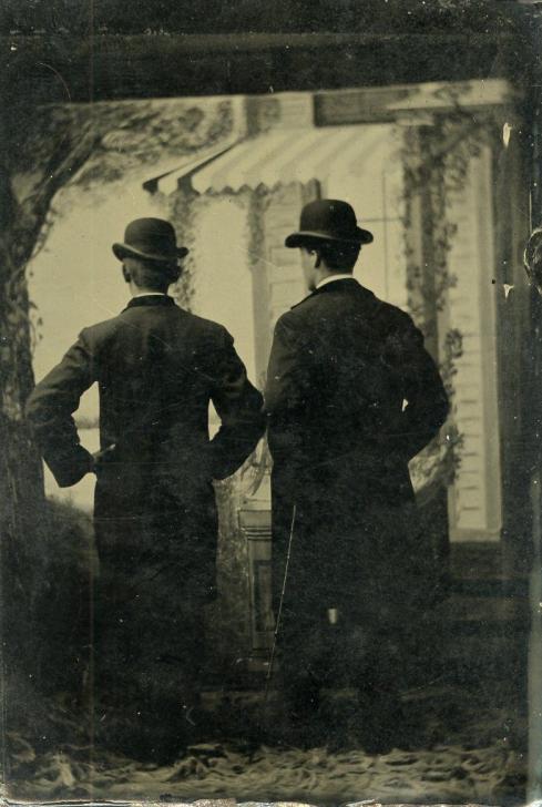 1890s-1900s Tintype.