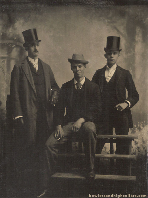 1880s tintype. Private Collection.
