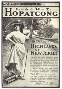 1900s Lake Opatkong advert.