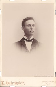 Cabinet card.