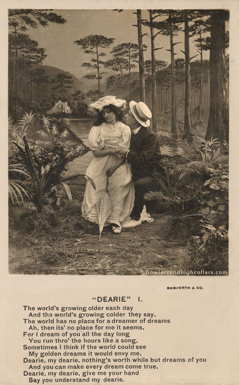 'Dearie' postcard. Private Collection.