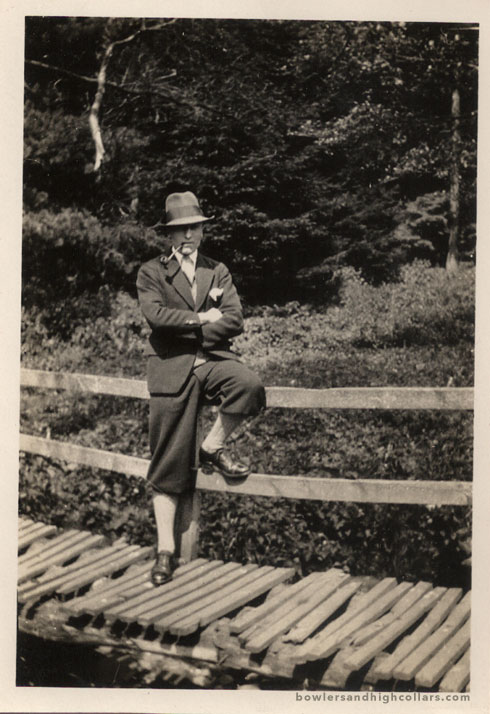 1930s snapshot. Private Collection.