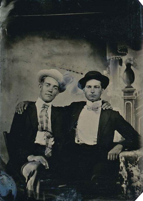 1890s tintype