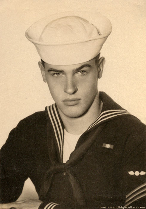 American Sailor Headshot. Private Collection.