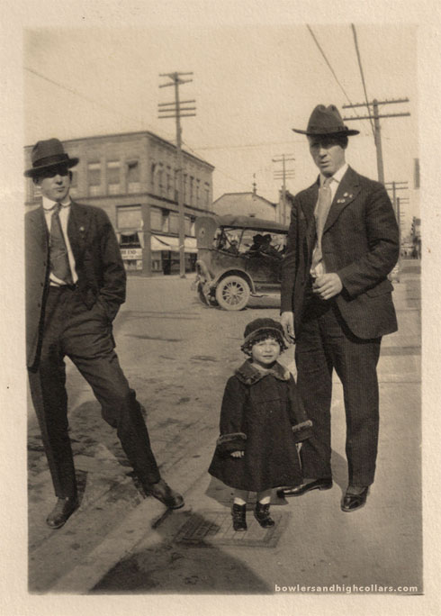 1920s Snapshot. Private Collection.