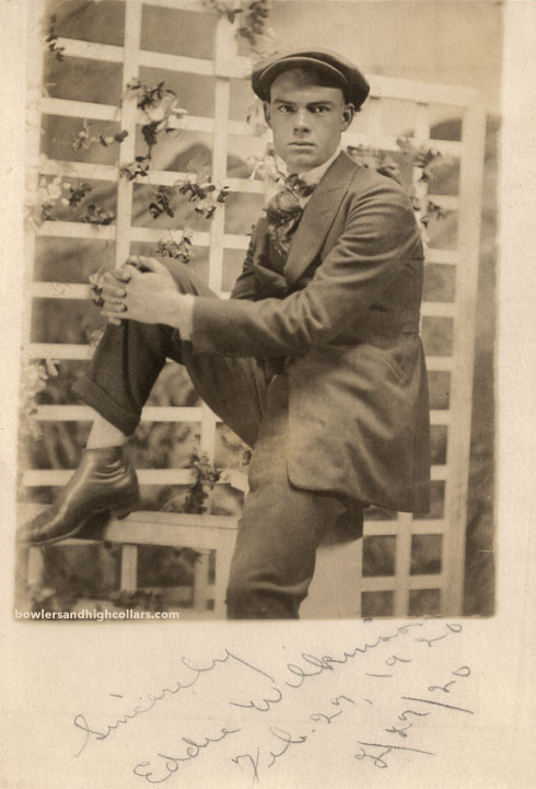 2/27/20 Eddie Wilkinson. RPPC. Private Collection.