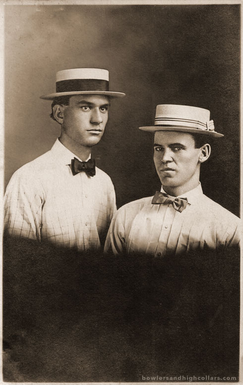 Tom & George Robinson. RPPC. Private Collection.